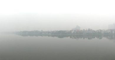 Dicke Luft in Hanoi